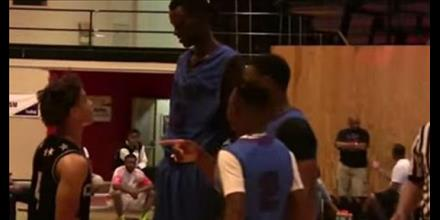 Chol Marial Is 7 3 And Only A 8th Grader Catch His Moves On The Hardwood
