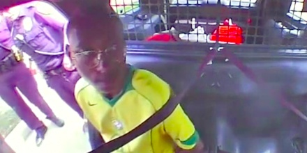 WATCH Black Grandson Riding With White Grandmother Is Falsely Accused Of Being Robbery Suspect