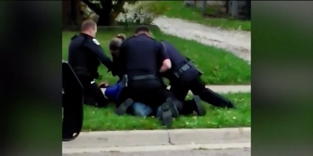 WATCH Ohio Police Caught On Video Beating And Tasing Man Pinned To The Ground