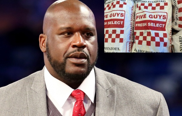 Image result for shaq five guys