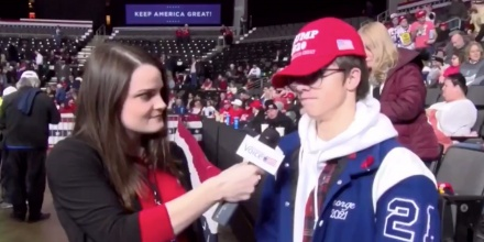 Watch Trump Supporter Cannot Name One Good Thing Trump Has Done
