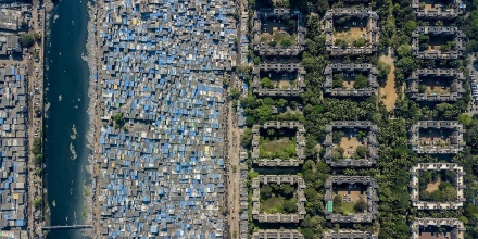 Want To Visualize Inequality View Cities From Above