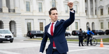 Opinion Assault On Democracy Sen Josh Hawley Has Blood On His Hands In Capitol Coup Attempt